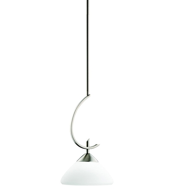 Kichler 3478AP Olympia Collection Mini Pendant 1 Light in Antique Pewter