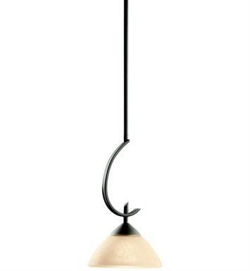 Kichler 3478OZ Olympia Collection Mini Pendant 1 Light in Olde Bronze