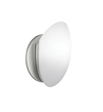 "Kichler 6520NI Swiss Passport 1 Light 6"" 75W Incandescent Wall Sconce in Brushed Nickel"