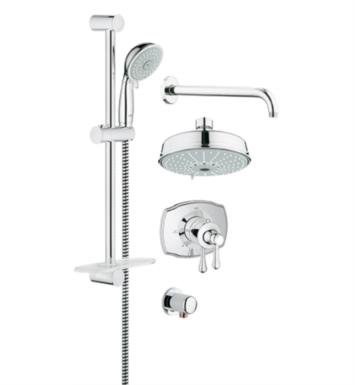"Grohe 35054EN0 GrohFlex 24 1/2"" Thermostatic Valve Shower Set with 4 Sprays Showerhead With Finish: Brushed Nickel"
