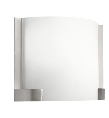 Kichler 10620NI Nobu Collection Wall Sconce 1 Light Fluorescent in Brushed Nickel