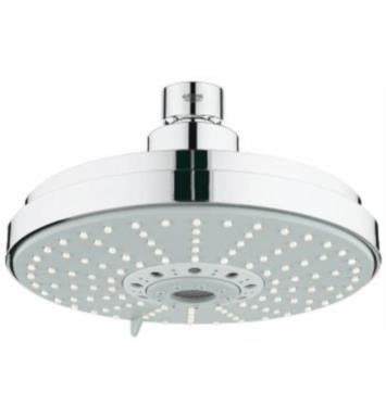 "Grohe 27135000 RainShower 6 3/8"" Ceiling Mount Bathroom Shower Head with Four Sprays With Finish: StarLight Chrome"