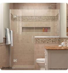 "DreamLine D136 Unidoor-X W 72"" to 72 1/2"" x H 72"" Hinged Shower Door"