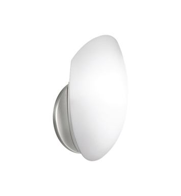 Kichler 6521NI Wall Sconce 1 Light in Brushed Nickel