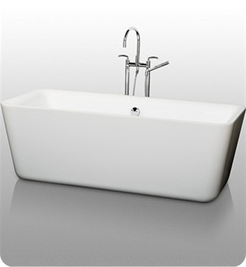 [DISABLED]Emily Soaking Bathtub by Wyndham Collection