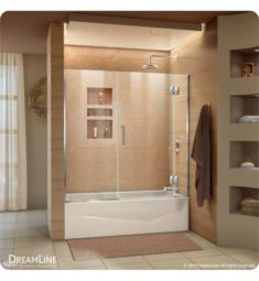 DreamLine D58580 Unidoor-X 58 in. W x 58 in. H Hinged Tub Door