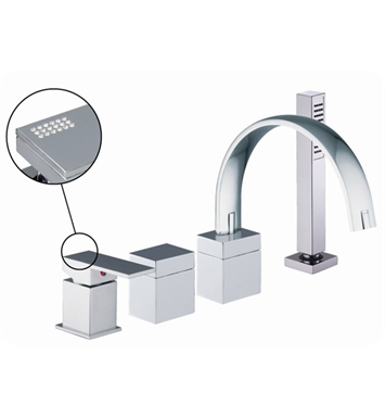 Nameeks S3514C Deck Mount Tub Filler Fima