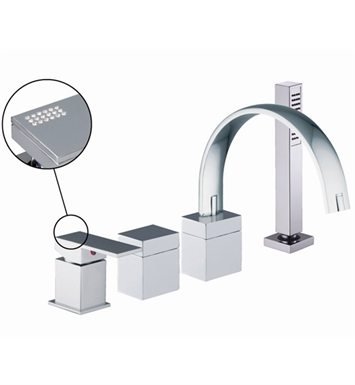 Nameeks S3514 Deck Mount Tub Filler Fima