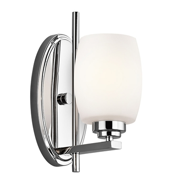Kichler 5096CH Eileen Collection Wall Sconce 1 Light in Chrome