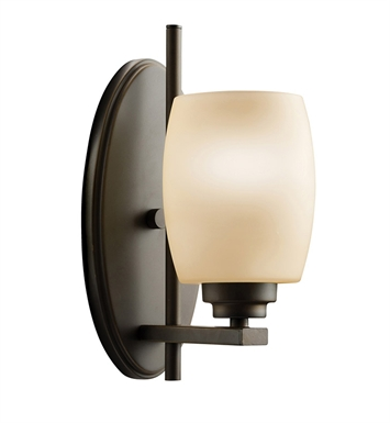 Kichler 5096OZ Eileen Collection Wall Sconce 1 Light in Olde Bronze