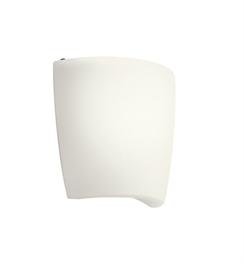 Kichler 10689WH Wall Sconce 1 Light Fluorescent in White