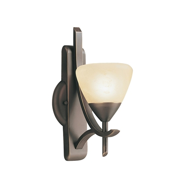 Kichler 6079OZ Olympia Collection Wall Sconce 1 Light in Olde Bronze