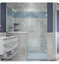 "DreamLine SHDR-242 Unidoor Plus W 47"" to 48 1/2"" x H 72"" Hinged Shower Door"