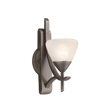 Kichler 6079OZW Olympia Collection Wall Sconce 1 Light in Olde Bronze