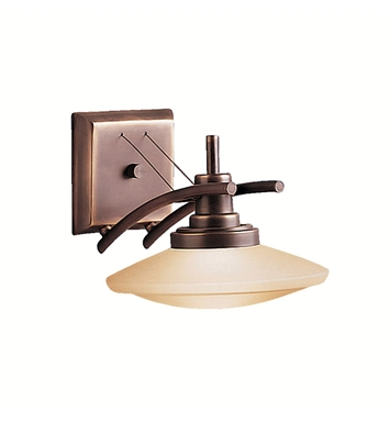 Kichler 6963OZ Structures Collection Wall Sconce 1 Light Halogen in Olde Bronze