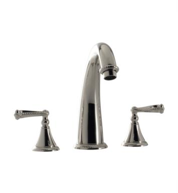 "Santec 2250AN20-TM Kriss III Roman Tub Filler Set With ""AN"" Handles - (Uses P0002 Valve) With Finish: Orobrass <strong>(USUALLY SHIPS IN 4-5 WEEKS)</strong>"