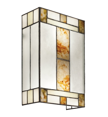 Kichler 69163 Bryce Collection Wall Sconce 2 Light in Multi-Colored