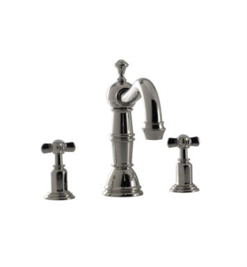 "Santec 2950ET56-TM Vantage II Roman Tub Filler Set With ""ET"" Handles - (Uses P0002 Valve) With Finish: Bright Victorian Bronze <strong>(USUALLY SHIPS IN 4-5 WEEKS)</strong>"