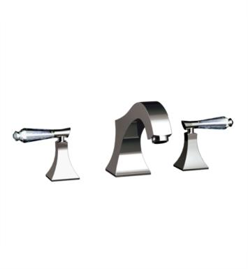 "Santec 9250DC50-TM Edo Crystal Roman Tub Filler Set With ""DC"" Handles - (Uses P0002 Valve) With Finish: Polished 24K Gold <strong>(USUALLY SHIPS IN 4-5 WEEKS)</strong>"