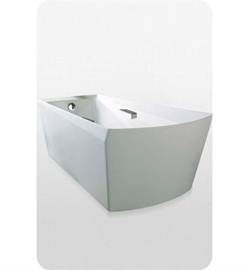 TOTO ABF964N#01DBN Soiree® Free Standing Bathtub with Grab Bars With Finish: Cotton And Drain and Overflow Finish: Brushed Nickel