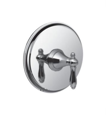 "Santec 2231JZ75-TM Kriss V Pressure Balance Trim with ""JZ"" Handle - (Uses PB-3800 Valve) With Finish: Satin Nickel <strong>(USUALLY SHIPS IN 2-3 WEEKS)</strong>"