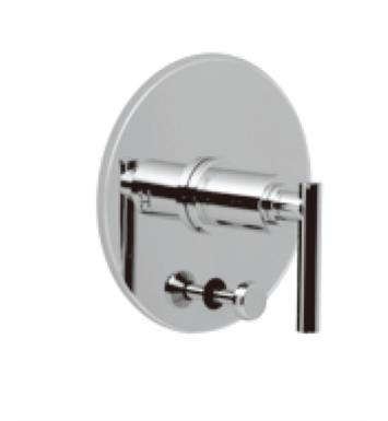 Santec 3535TJ14-TM Modena III Pressure Balance Tub/Shower - Trim Only with TJ Handle (Includes Push Button Diverter, Handle and Plate) Valve Not Included Uses PB-3950 Valve With Finish: Gunmetal Grey <strong>(USUALLY SHIPS IN 4-5 WEEKS)</strong>