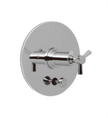 Santec 3535TX15-TM Modena II Pressure Balance Tub/Shower - Trim Only with TX Handle (Includes Push Button Diverter, Handle and Plate) Valve Not Included Uses PB-3950 Valve With Finish: Satin Chrome <strong>(USUALLY SHIPS IN 4-5 WEEKS)</strong>