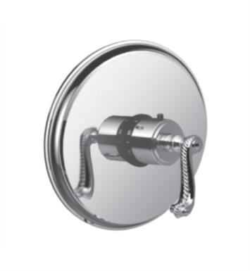 "Santec 7093AN14-TM Kriss III Thermostatic Shower - Trim Only with AN Handle (Includes 3/4"" Trim Plate and Handle, Requires Separate Volume Control) Valve Not Included Uses TH-5034 Valve With Finish: Gunmetal Grey <strong>(USUALLY SHIPS IN 4-5 WEEKS)</strong>"