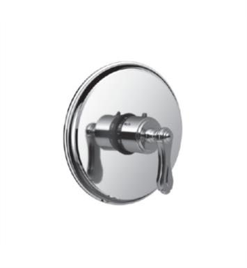"Santec 7093BR10-TM Baroque Thermostatic Shower - Trim Only with BR Handle (Includes 3/4"" Trim Plate and Handle, Requires Separate Volume Control) Valve Not Included Uses TH-5034 Valve With Finish: Polished Chrome <strong>(USUALLY SHIPS IN 2-3 WEEKS)</strong>"