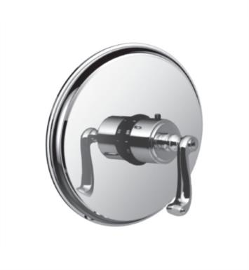 "Santec 7093CN97-TM Kriss I Thermostatic Shower - Trim Only with CN Handle (Includes 3/4"" Trim Plate and Handle, Requires Separate Volume Control) Valve Not Included Uses TH-5034 Valve With Finish: Roman Bronze <strong>(USUALLY SHIPS IN 2-3 WEEKS)</strong>"