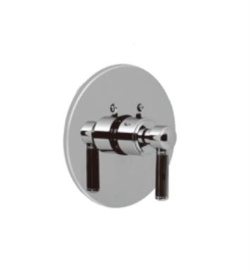 "Santec 7093EN75-TM Enzo Thermostatic Shower - Trim Only with EN Handle (Includes 3/4"" Trim Plate and Handle, Requires Separate Volume Control) Valve Not Included Uses TH-5034 Valve With Finish: Satin Nickel <strong>(USUALLY SHIPS IN 2-3 WEEKS)</strong>"