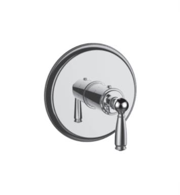 "Santec 7093EY47-TM Thermostatic Shower - Trim Only with EY Handle (Includes 3/4"" Trim Plate and Handle, Requires Separate Volume Control) Valve Not Included Uses TH-5034 Valve With Finish: Victorian Bronze <strong>(USUALLY SHIPS IN 4-5 WEEKS)</strong>"