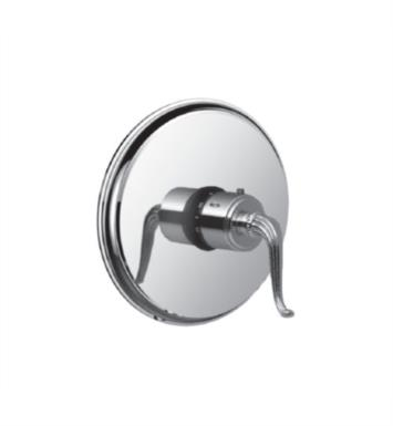 "Santec 7093FL10-TM Monarch III Thermostatic Shower - Trim Only with FL Handle (Includes 3/4"" Trim Plate and Handle, Requires Separate Volume Control) Valve Not Included Uses TH-5034 Valve With Finish: Polished Chrome <strong>(USUALLY SHIPS IN 2-3 WEEKS)</strong>"
