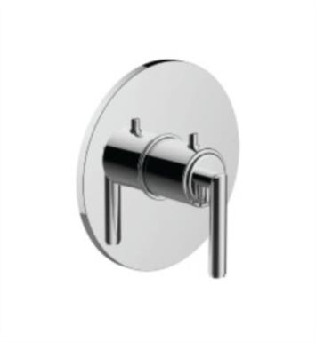 "Santec 7093TJ15-TM Thermostatic Shower - Trim Only with TJ Handle (Includes 3/4"" Trim Plate and Handle, Requires Separate Volume Control) Valve Not Included Uses TH-5034 Valve With Finish: Satin Chrome <strong>(USUALLY SHIPS IN 4-5 WEEKS)</strong>"