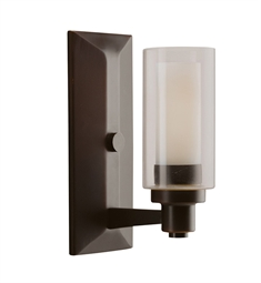 Kichler Circolo Collection Wall Sconce 1 Light in Olde Bronze