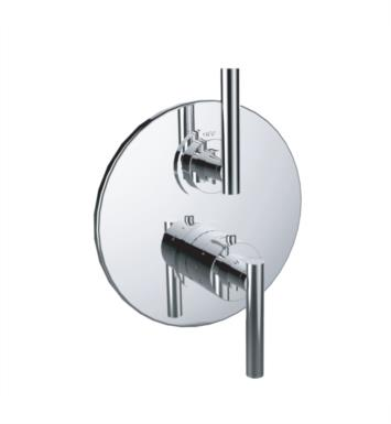 "Santec 7095TJ88-TM 1/2"" Thermostatic Trim with TJ Handle and Volume Control - (Uses TH-8000 Valve) With Finish: Bright Pewter <strong>(USUALLY SHIPS IN 4-5 WEEKS)</strong>"