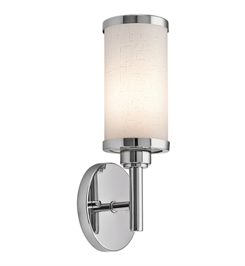 Kichler Wall Sconce 1 Light Fluorescent in Chrome
