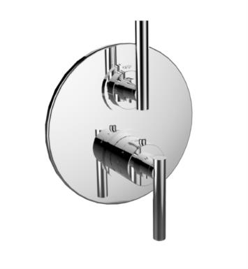 "Santec 7097TJ75-TM 1/2"" Thermostatic Trim with TJ Handle and 2-Way Diverter (Non-Shared) - (Uses TH-8200 Valve) With Finish: Satin Nickel <strong>(USUALLY SHIPS IN 2-3 WEEKS)</strong>"