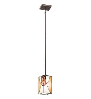 Kichler 65375 Elias Collection Mini Pendant 1 Light