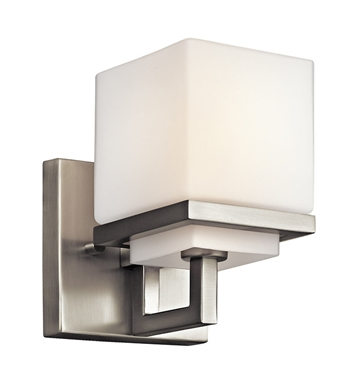 Kichler 45137NI Wall Sconce 1 Light in Brushed Nickel