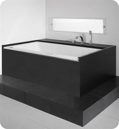 "Neptune 1165 Zora ZB3666 66"" Customizable Rectangular Bathtub"