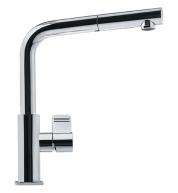 "Franke FFPS1180 Mythos 11 5/8"" Single Hole Deck Mounted Pullout Kitchen Faucet With Finish: Satin Nickel"
