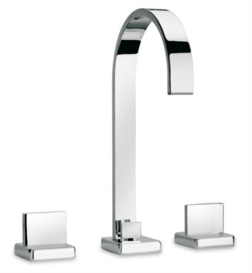 "LaToscana 86CR214 Novello 12"" Double Handle Widespread/Deck Mounted Bathroom Sink Faucet with Pop-Up Drain With Finish: Chrome"