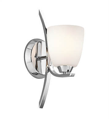 Kichler 45358CH Granby Collection Wall Sconce 1 Light in Chrome