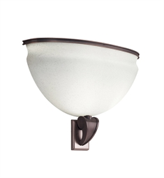 Kichler Pierson Collection Wall Sconce Fluorescent in Royal Bronze
