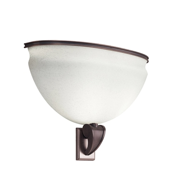Kichler 10442RBZ Pierson Collection Wall Sconce Fluorescent in Royal Bronze