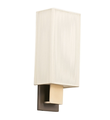 Kichler 10438CPBG Santiago Collection Wall Sconce 1 Light Fluorescent in Champagne