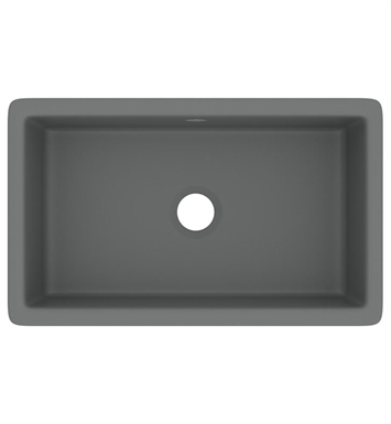 "Rohl UM3018WH Shaws Classic Shaker 30"" Modern Single Bowl Undermount Fireclay Kitchen Sink With Finish: White"