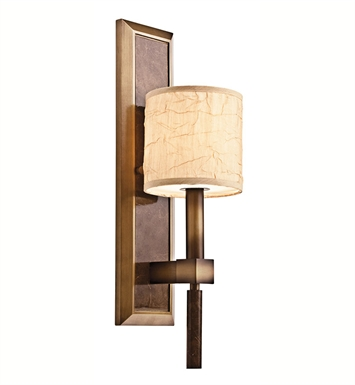 Kichler 42103CMZ Celestial Collection Wall Sconce 1 Light in Cambridge Bronze