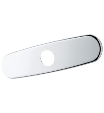 "Grohe 07552SD0 2 3/4"" One-Hole Escutcheon in StarLight Finish With Finish: RealSteel"
